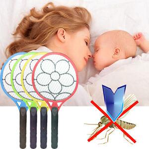 Tapette-Raquette-electrique-Rechargeable-Anti-Moustique-Mouche-Insecte-Efficace