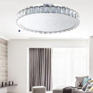 Geniune-K9-Crystal-Chandelier-30-40-60cm-Day-White-Ceiling-Light-Crushed-Crystal