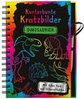 Kunterbunte Kratzbilder: Dinosaurier (2016, Gebundene Ausgabe)