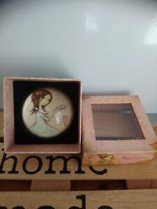 Jolie presse-papier paperweight de collection All for Love Santoro London neuf