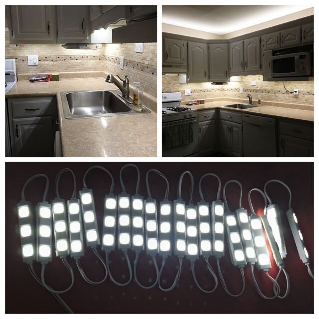 10ft 3m Led Closet Kitchen Under Cabinet Counter Light Remote Us Plug
