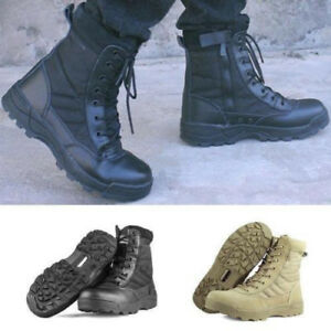 Men-Military-Tactical-Combat-Boots-Winter-Hunting-Hiking-Camoflage-Army-Shoes-UK