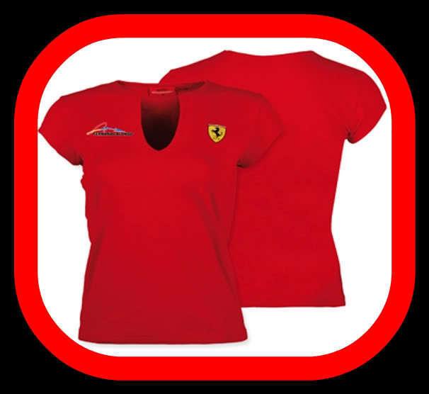 oficial Talla Prod Ferrari Alonso L Camiseta Mujer b7mfgyvY6I