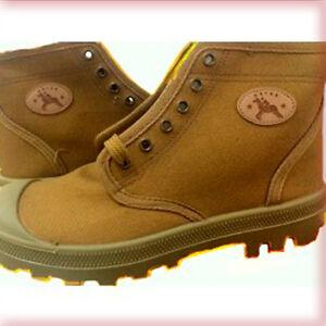 Israeli Paladium Commandos Boots Sand