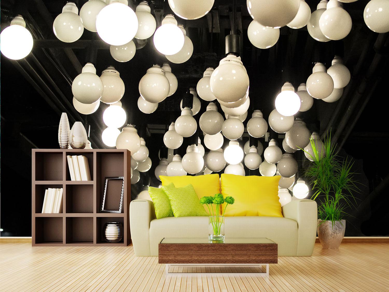 3D Round Lights 755 Wall Paper Murals Wall Print Wall Wallpaper Mural AU Lemon