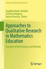 Advances in Mathematics Education: Approaches to Qualitative Research in...