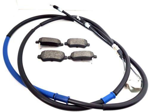 VAUXHALL ASTRA H MK5 Hatch 05-11 COMPLETO FRENO A MANO CABLE /& PASTIGLIE FRENO POSTERIORE SERIE