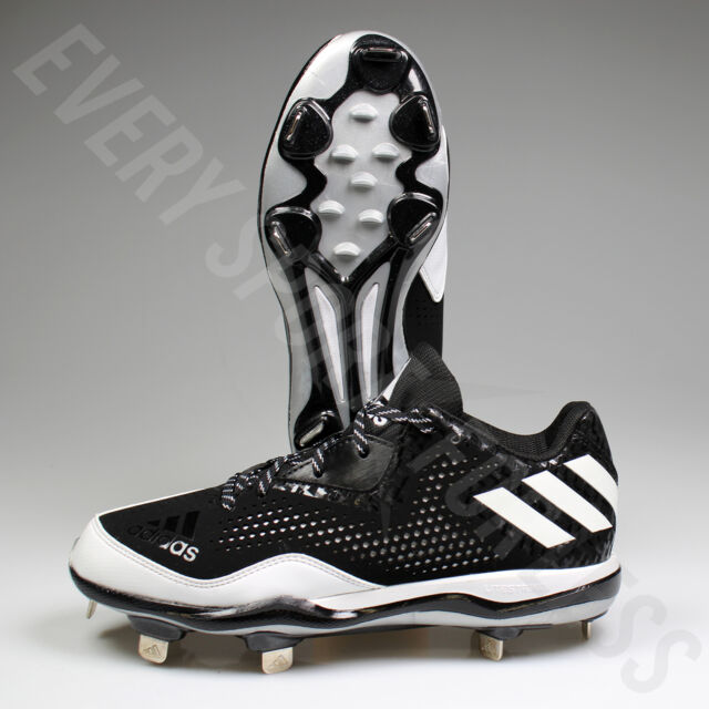 new products 84313 9640f Adidas Power Alley 4 low Mens Metal Baseball Cleats Q16481 (NEW) Lists    85