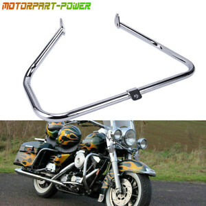 Engine Highway Guard Crash Bar For 97-08 Harley Road King FLHT Touring
