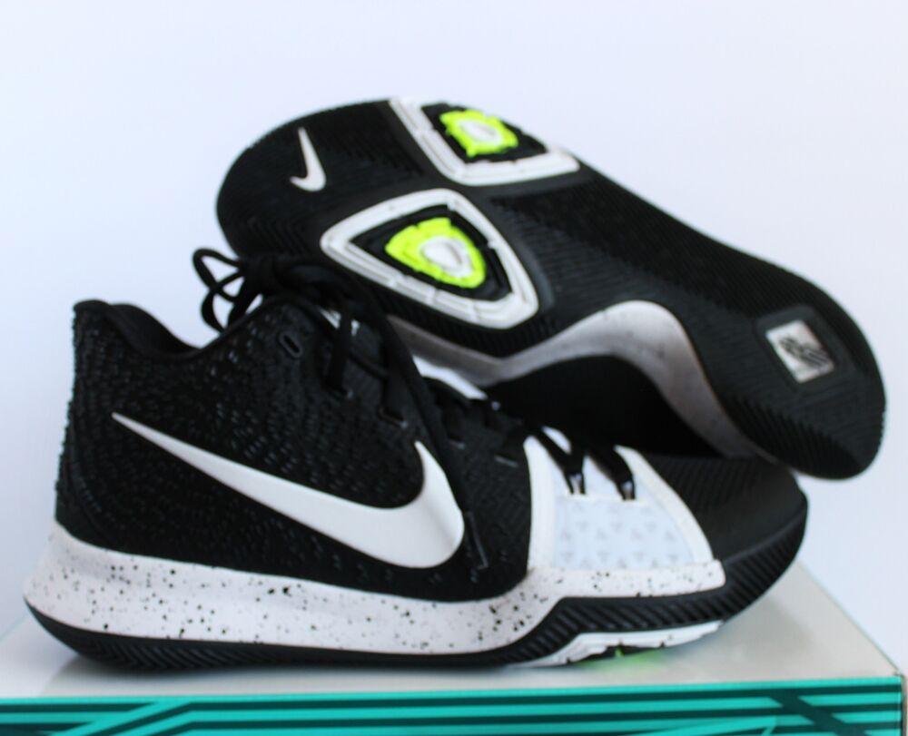 Nike Kyrie 3 TB Tuxedo noir/blanc sz 14 [917724-001]