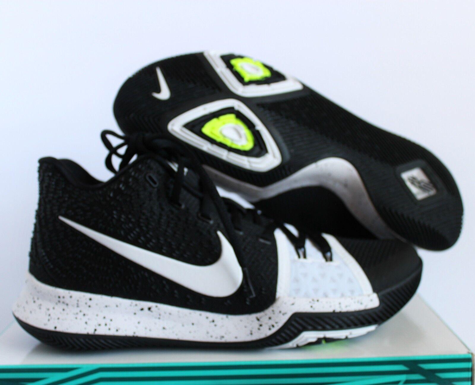 Nike Kyrie 3 TB Tuxedo Black White sz 14