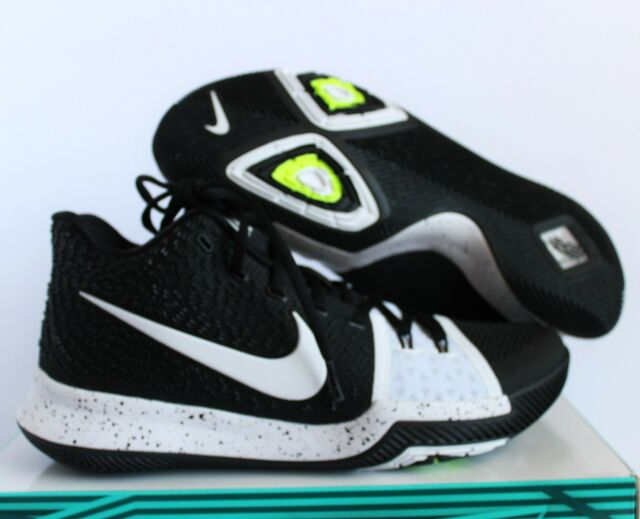 Nike Kyrie 3 TB Tuxedo Black white Sz 14 917724-001 for sale online ... 278ebbd26