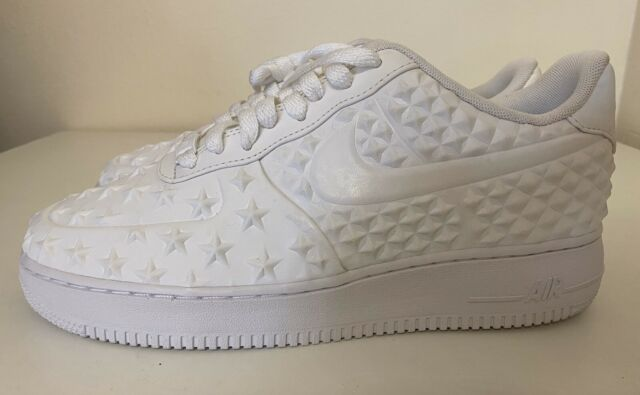Nike Air Force 1 Low LV8 VT Independence Day Mens Sz 9 Stars 789104 100 NEW!!!