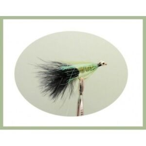Size 10 Trout Flies Cats Whiskers 6 Per Pack Rainbow Beaded Fishing flies