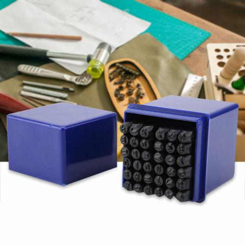6mm Schlagstempel Prägestempel  SD 36tlg Schlagzahlen Schlagbuchstaben Set 3mm