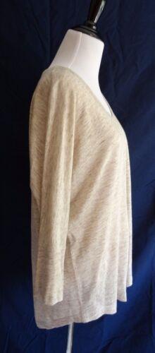 Tunika Nwt Creme Ashlee Joie Slouchy Small Sweater Linen Heather Havregryn RSUqf