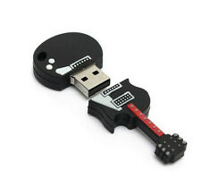 Black Violin 4GB USB2.0 Flash Drive Fans Guitar Storage U Disk Memory Stick