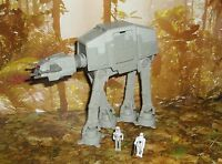 STAR WARS ACTION FLEET SERIES IMPERIAL AT-AT WALKER COMPLETE W/ 2 MINI FIGURES