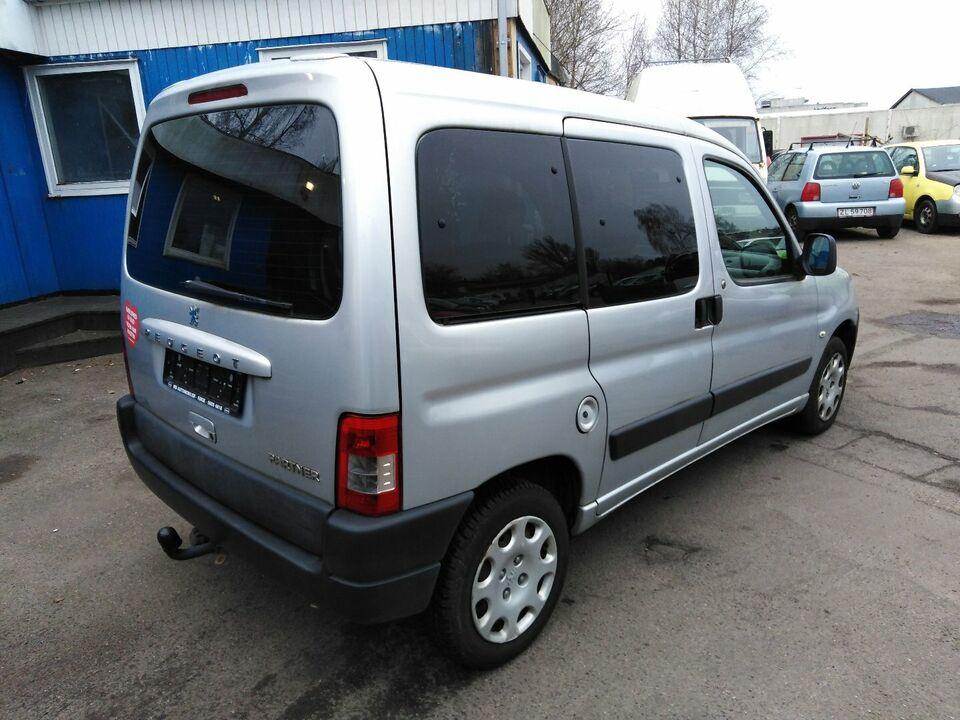 Peugeot Partner 1,6 HDi X-Line Diesel modelår 2006 km