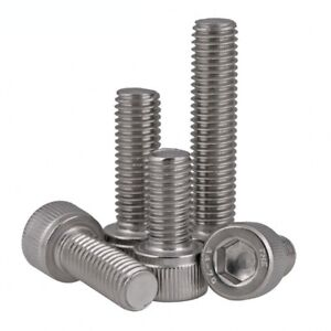 M2-M2-5-M3-A4-70-Stainless-Steel-DIN912-Allen-Bolt-Socket-Cap-Screws-Hex-Head
