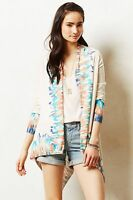 Anthropologie Sapphire Flame Cardigan By Guinevere S