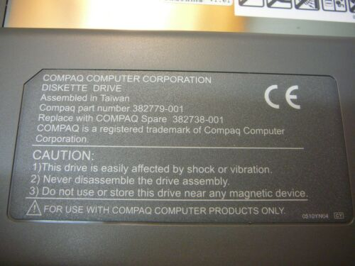 COMPAQ 382738-001 1.44 Floppy Drive for Prosignia Notebook Series **NEW** 1//PKG