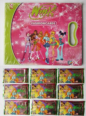RARE 2009 WINX CLUB FASHIONCARDS BOX OF 24 PACKS RAINBOW ITALY NEW SEALED !