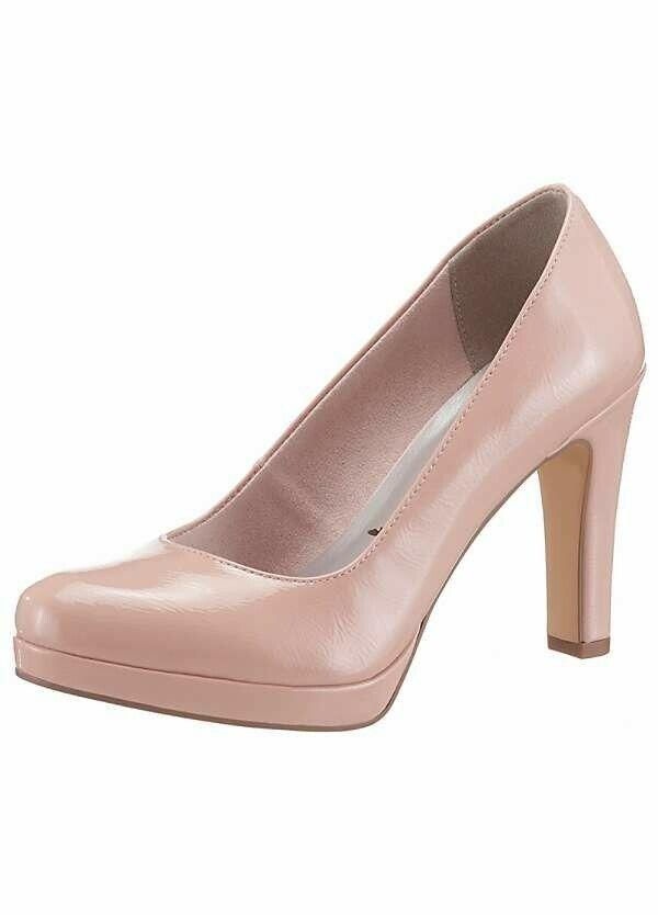 Tamaris High Heel shoes  pink Patent, Size