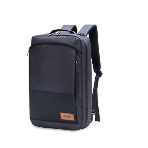 Slim-Business-15-6-039-039-Laptop-Backpack-Water-Resistant-Travel-Casual-With-USB-Port
