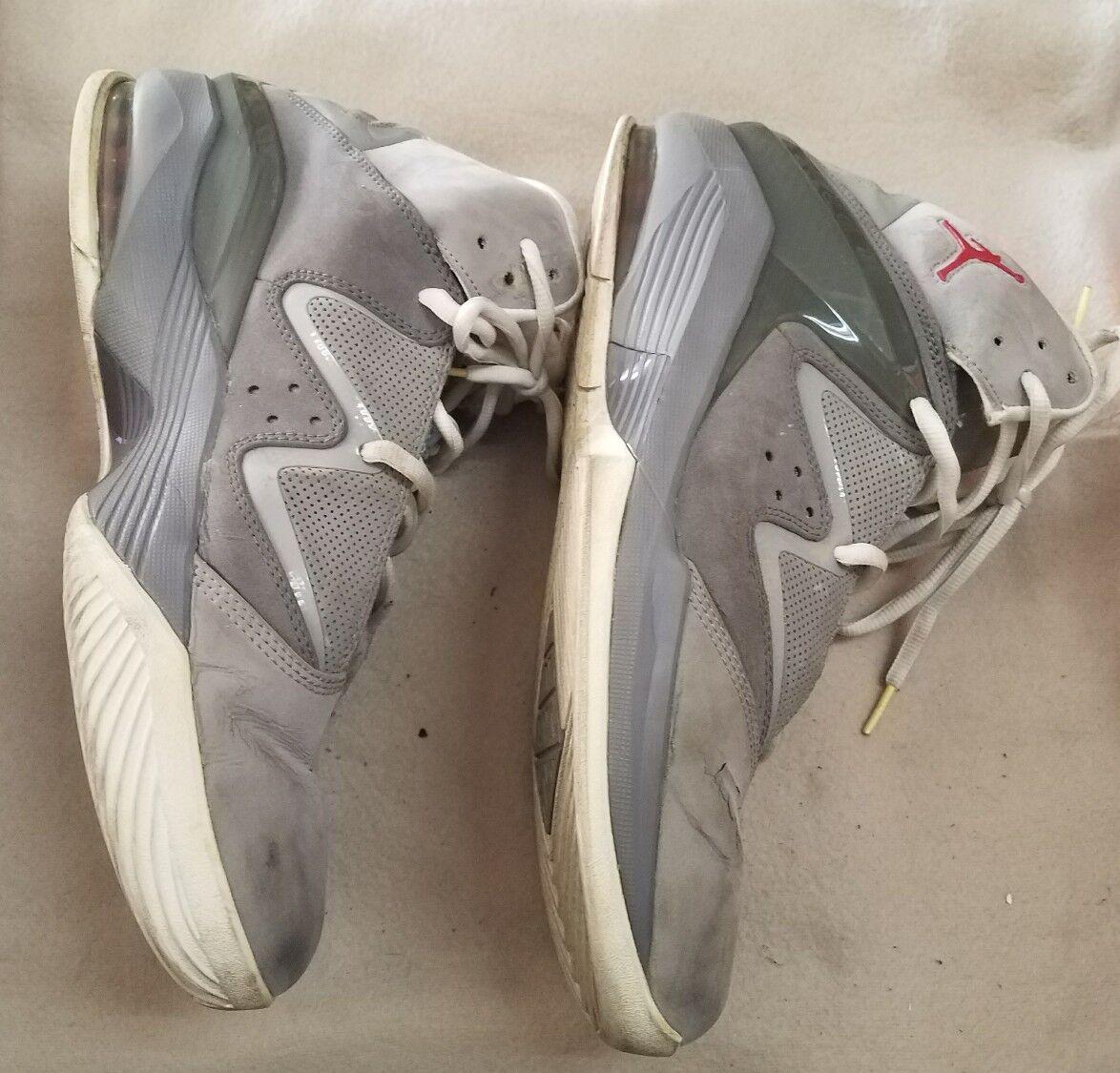 Nike air jordan puro rosso bianco - grigio j stealth dimensioni us12 414759-005 | Modalità moderna  | Scolaro/Signora Scarpa