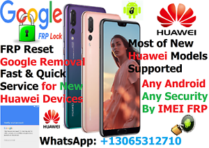 Details about FRP/Google Account Removal for All Huawei P10,P20,P30 MATE  Lite/Pro Android 8/9