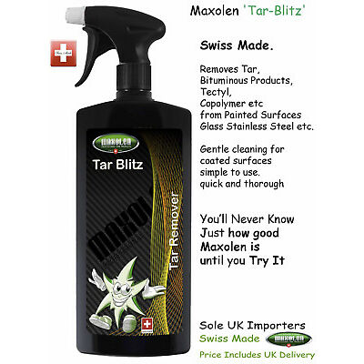 Maxolen Tar-Blitz 500ml, Tar Remover Swiss Quality & Safety