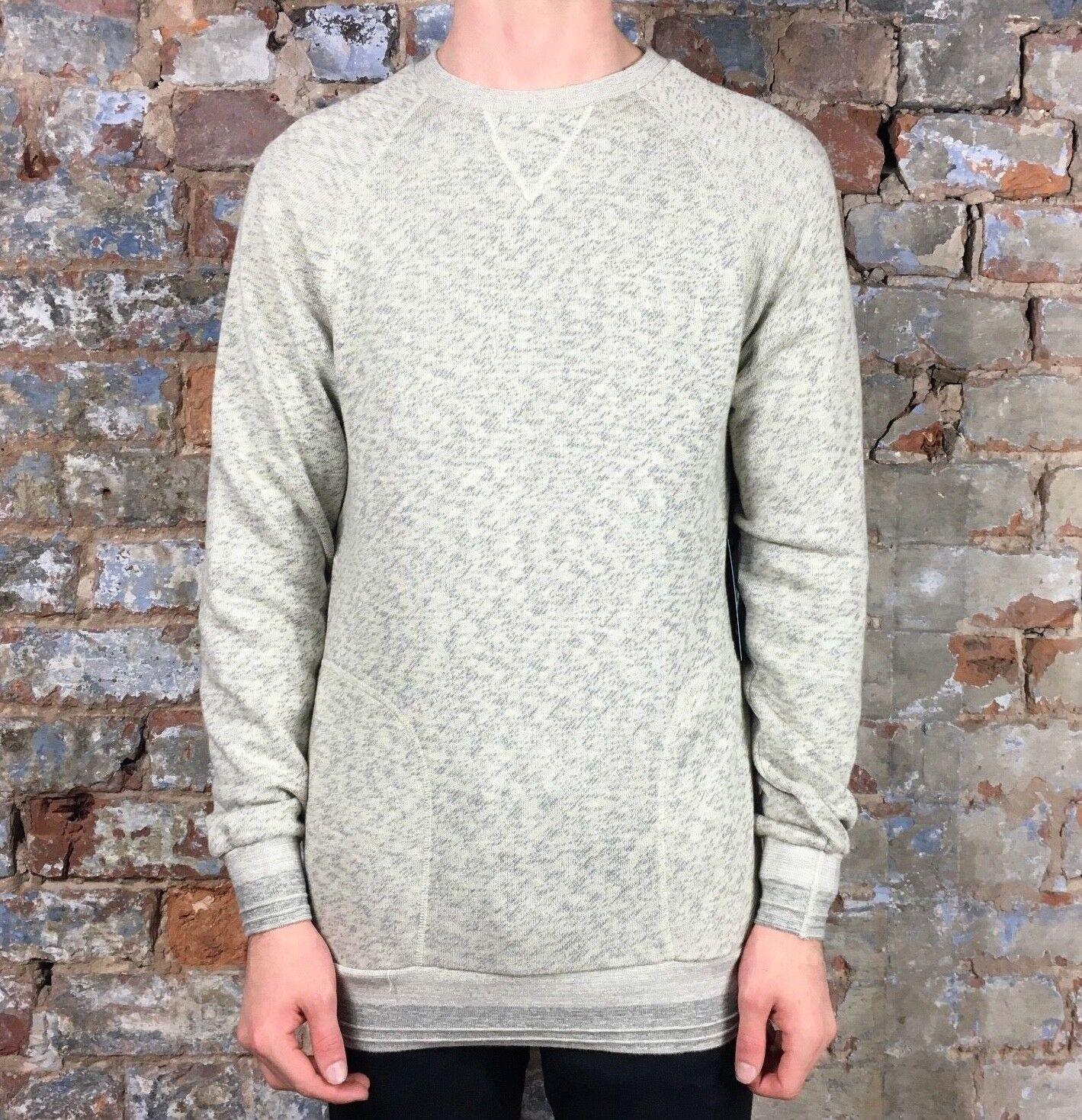 Diamond Supply Script Pullover Sweatshirt in Weiß in Größe S