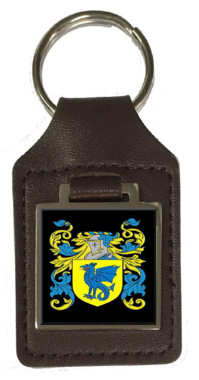 Cliff Familie Wappen Familienname Familienname Familienname Braunes Leder Schlüsselanhänger Graviert | Ausgezeichneter Wert  b872f6