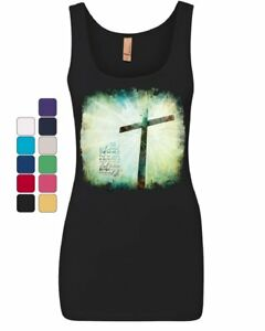 For-God-so-Loved-the-World-Women-039-s-Tank-Top-Lord-Savior-Jesus-Christian-Top