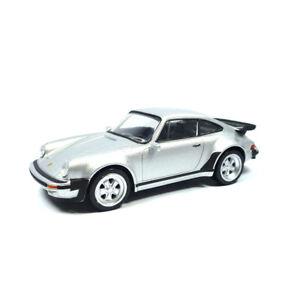 Norev-430200-Porsche-911-Turbo-3-3-silber-Youngtimers-Massstab-1-43-NEU