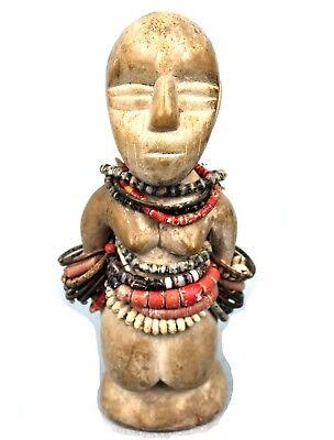34,5 Cm Art African Arts Premiers Superb Statue Bariba Jolis Ornaments