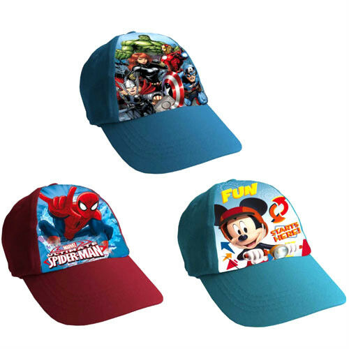 Kids Boys Childs Mickey Mouse Clubhouse Baseball Cap Adjustable Snapback Hat