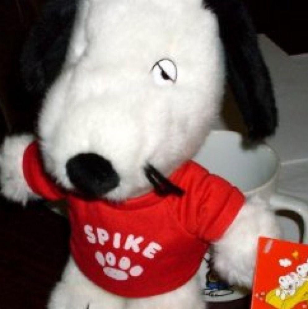 Peanuts Snoopy Bredher Spike 25cm Stuff Daisy Hill Pup