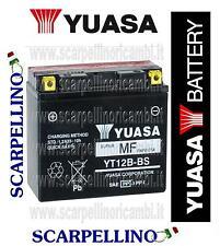 BATTERIA YUASA YT12B-BS CON ACIDO DUCATI 996 SPS III 996 cc DAL 2000  -BATTERY