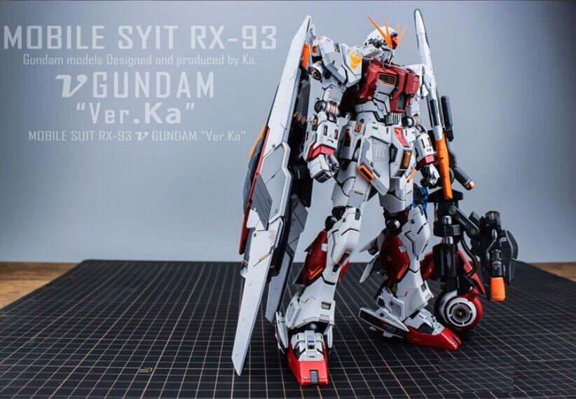 Gundam mg RX - 93v ver.ka propulsor turbina ventilador GMM pe accesorios personalizados
