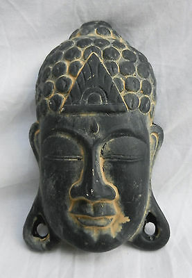 Terracotta Buddha Mask - Wall Hanging - BNIB