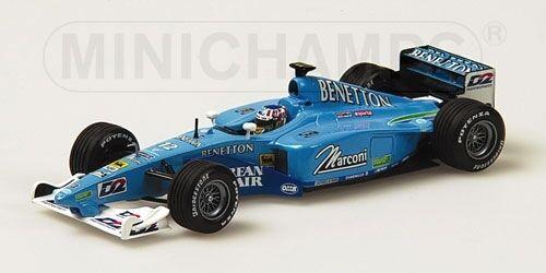 Benetton Playlife B 200 A. Wurz 2000 1 43 Model MINICHAMPS