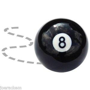 New-Crazy-8-Ball-Trick-Ball-BLACK-Standard-2-1-4-034-Regulation-Weight