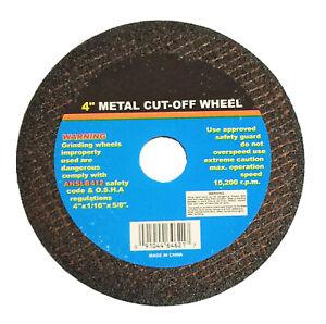 "Cut-Off Wheel 3/"" X 1//16/"" X 3//8/"" 100pcs Pirahna Power"