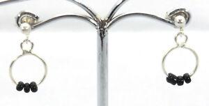 kleine-Ohrringe-Ohrstecker-mit-Onyx-925er-Sterling-Silber-Kinderschmuck-Neu