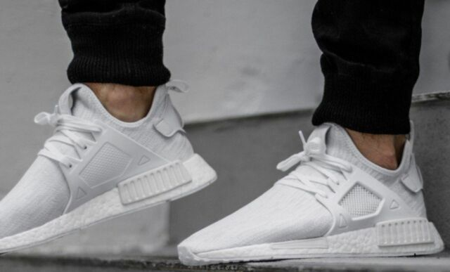Adidas NMD XR1 Black White Mens Trainers BY3050 Men