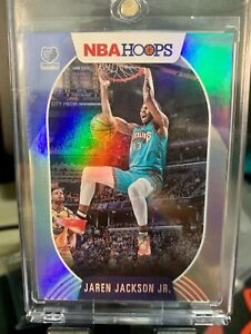 2020-21 NBA Hoops Basketball Jaren Jackson Jr. Holo Card 005/199 Grizzlies