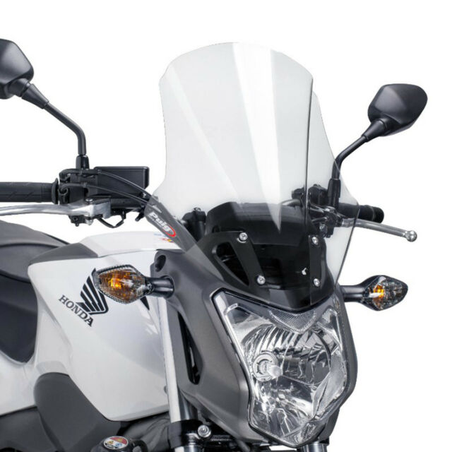 PUIG WINDSHIELD TOURING PLUS FOR HONDA NC700S 12-13 CLEAR