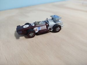 Hot Wheels Redlines Sizzlers Electric Car March F1 #14 Brown